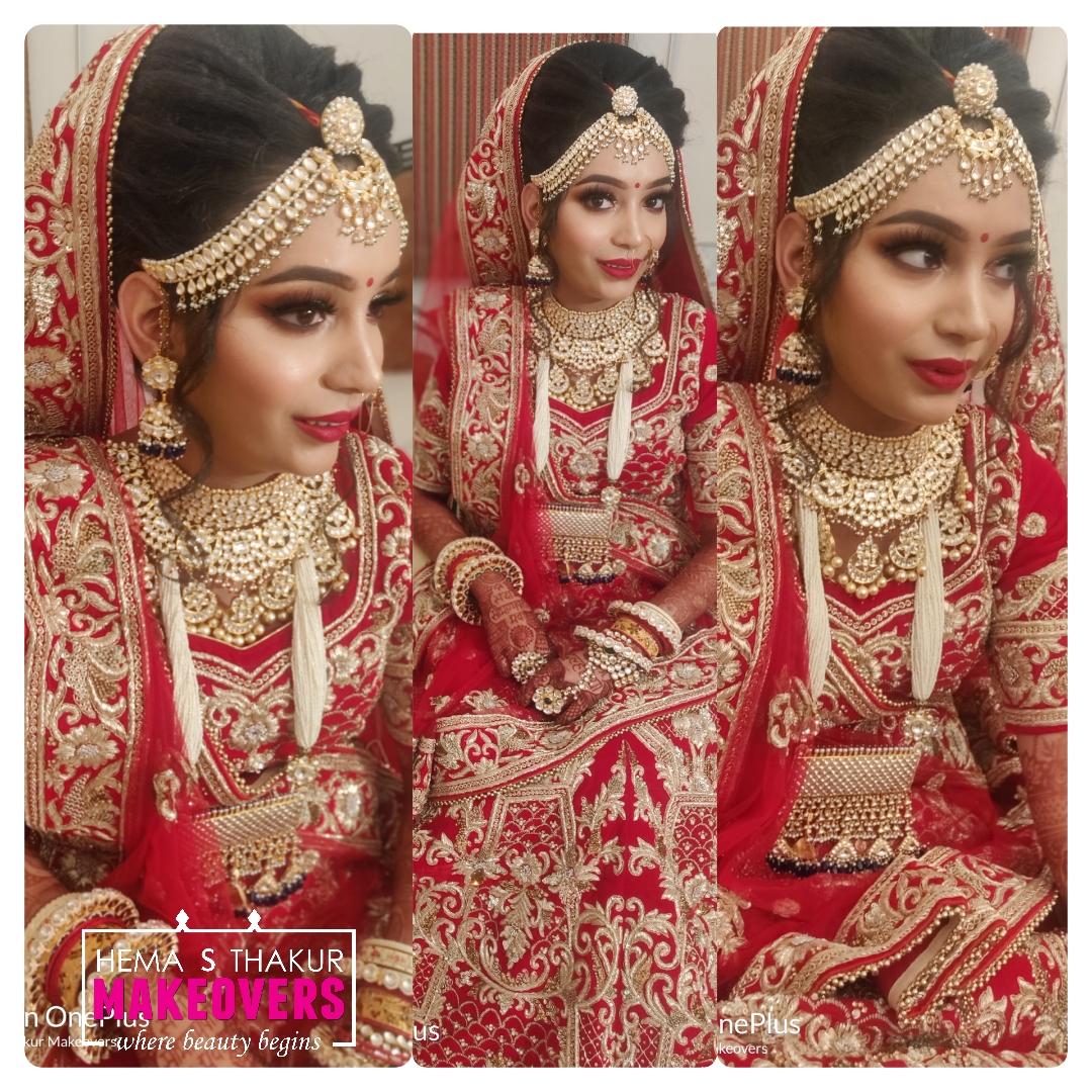 Rajput Bride Makeup Look