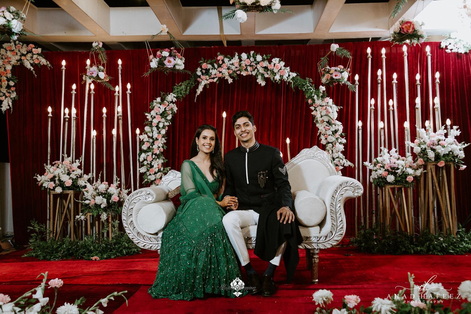 pastel floral wedding decor