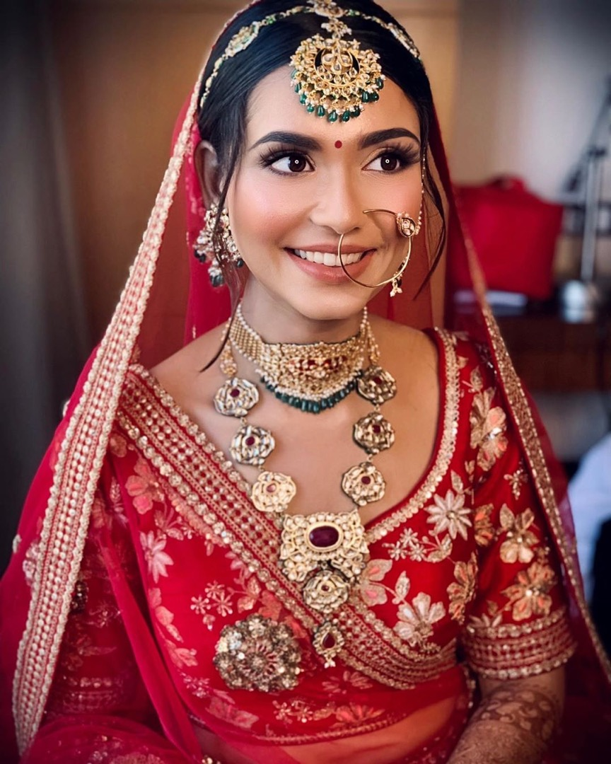 Indian Bridal Soft Glam Look