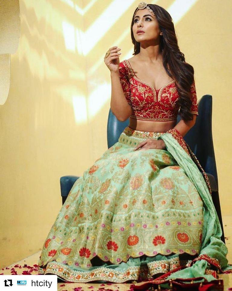 Hina Khan Bridal Photoshoot