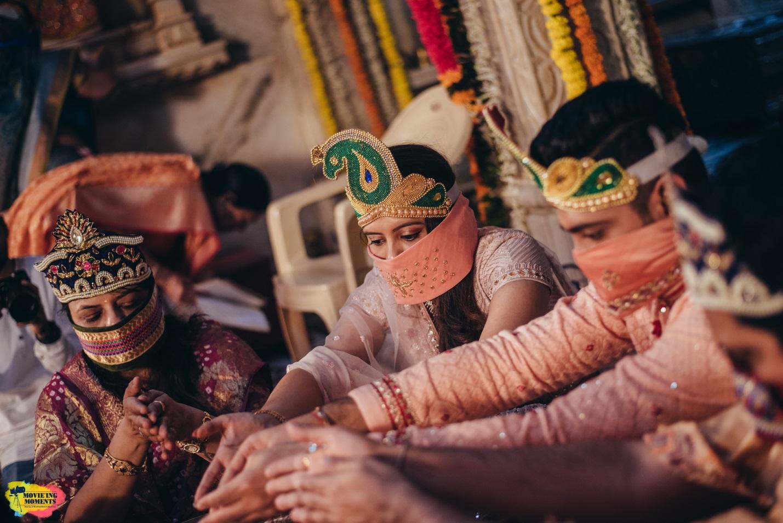 Jain bride and groom
