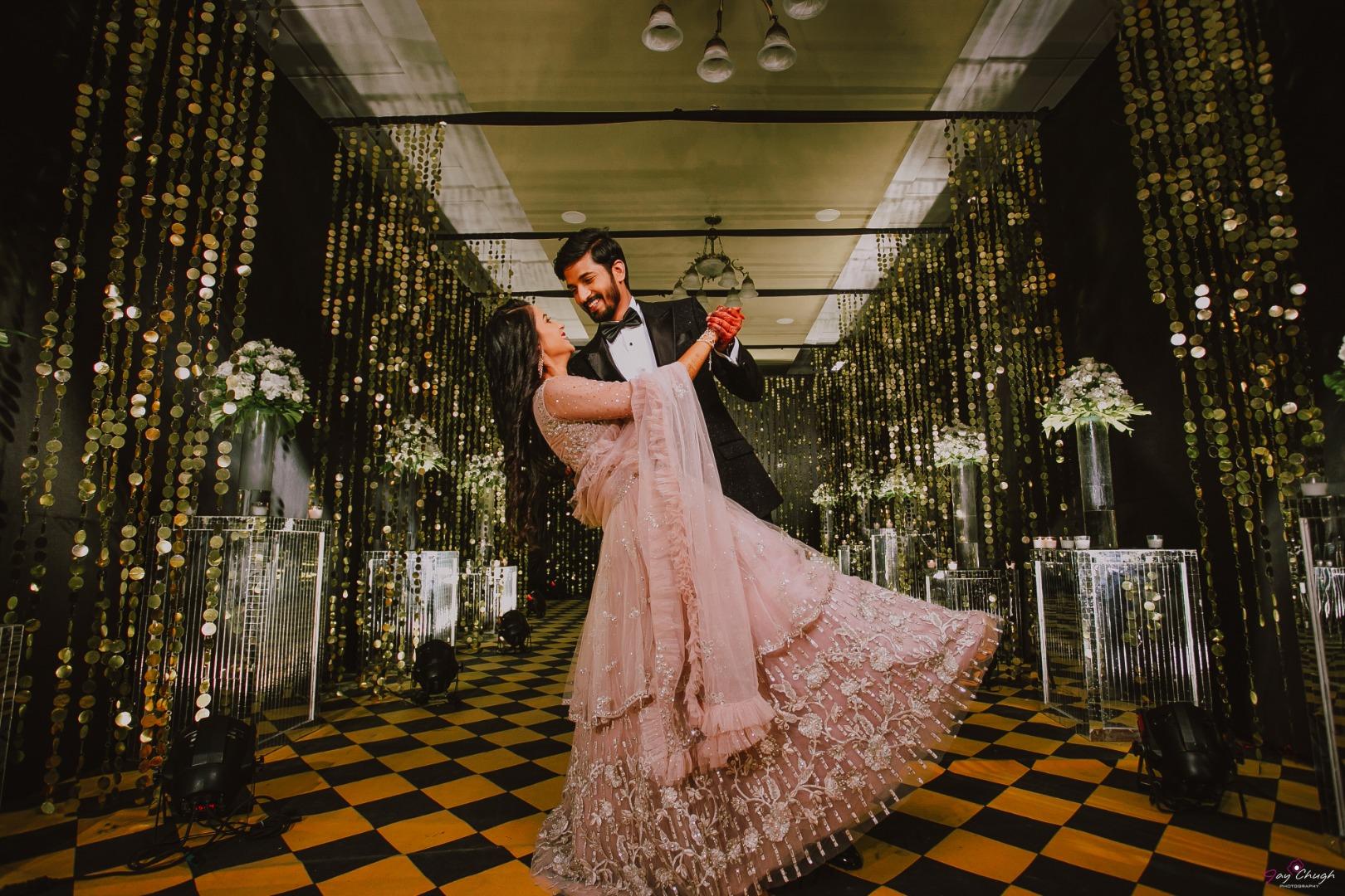 aesthetic couple shot
