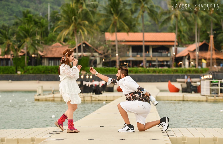 cute proposal photograph