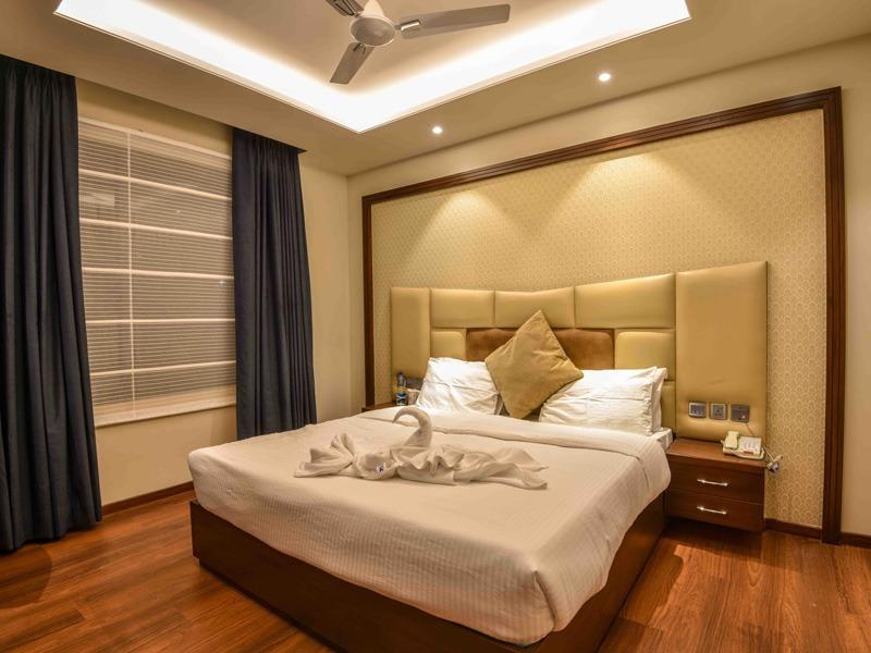 justa hotel's room