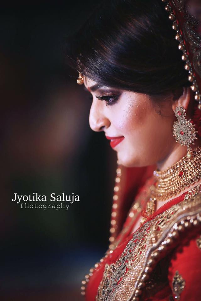 Bridal Neck Piece and Jhumka