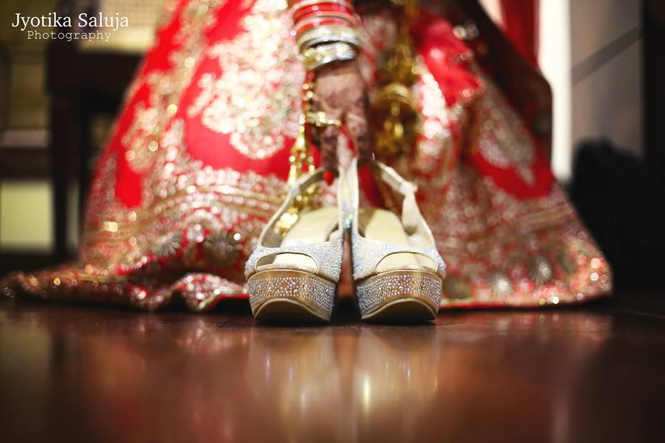 Bridal Footwear Shot