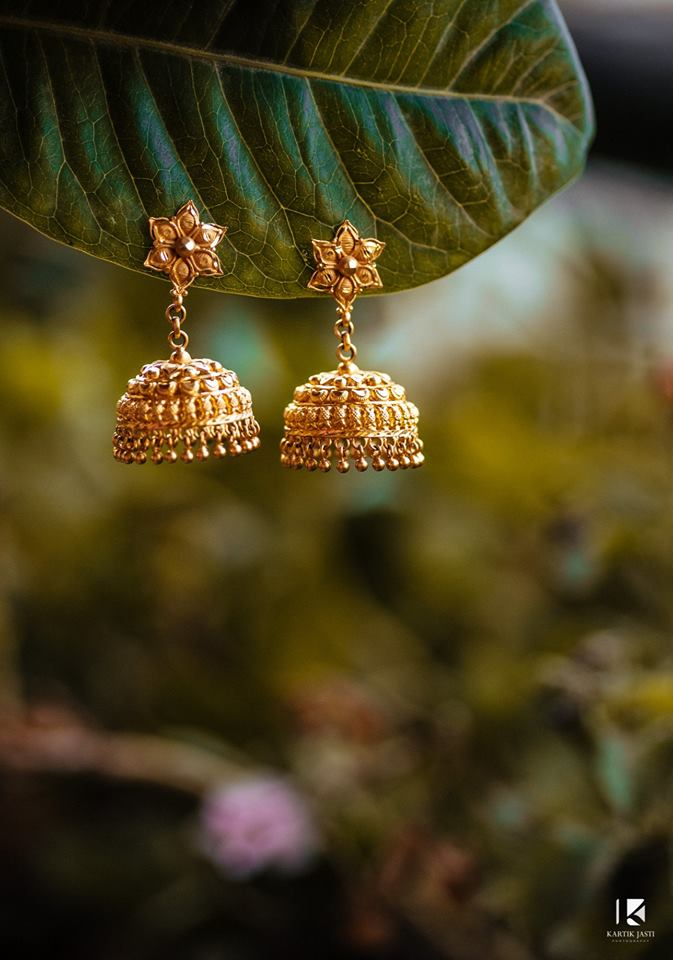 Jhumka for Punjabi Bride