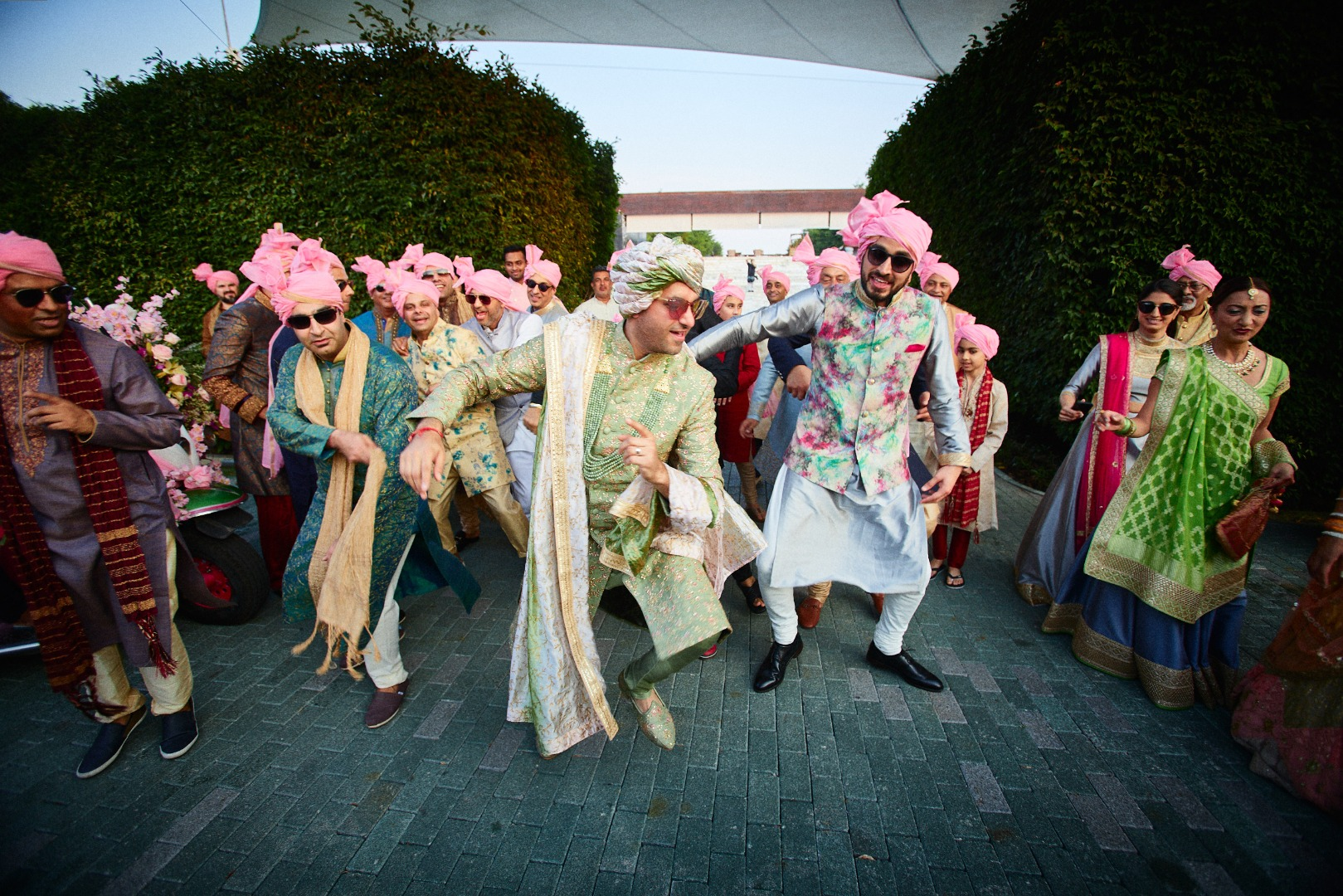 Aesthetic Groom Entry with dhol