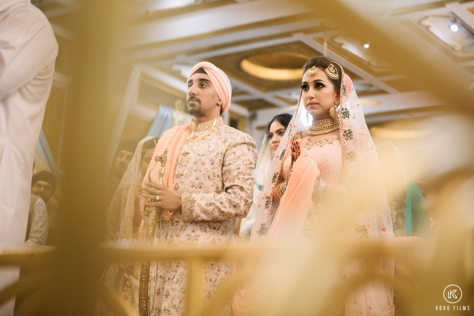 Sikh Bride & Groom