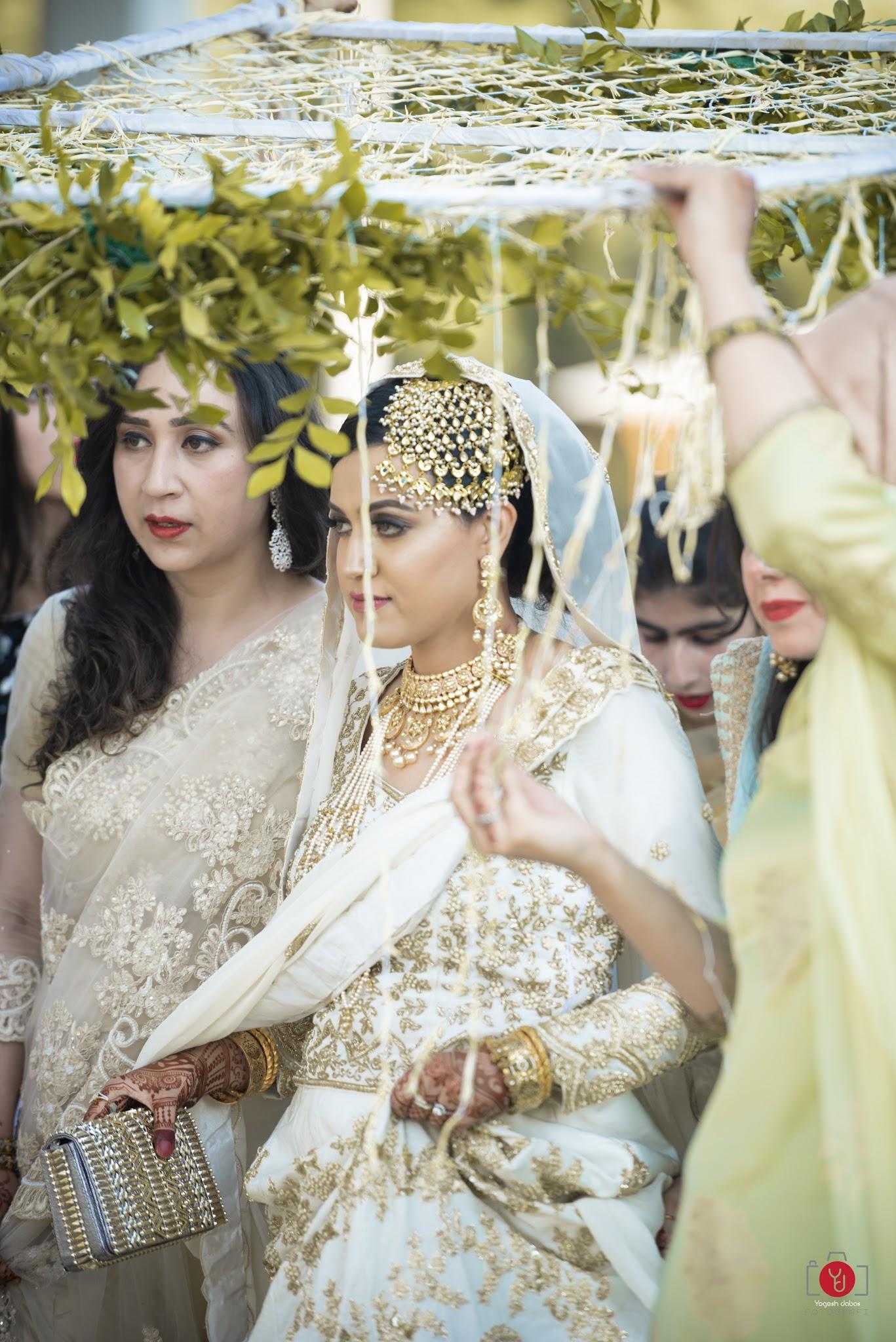 Kashmiri wedding lehenga