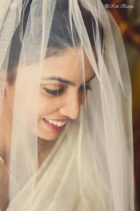 Christian Bride under Veil