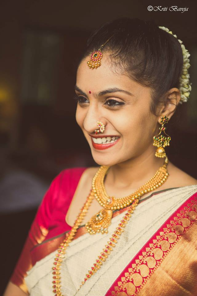 Classic South Indian Bride