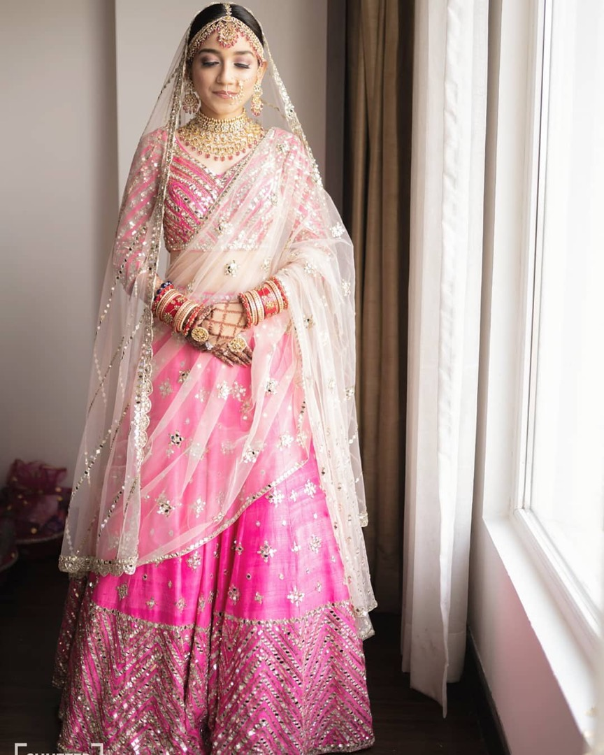 Gorgeous Indian Bride in Pink