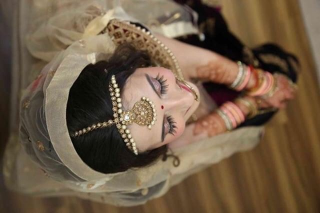 Bride in Gold