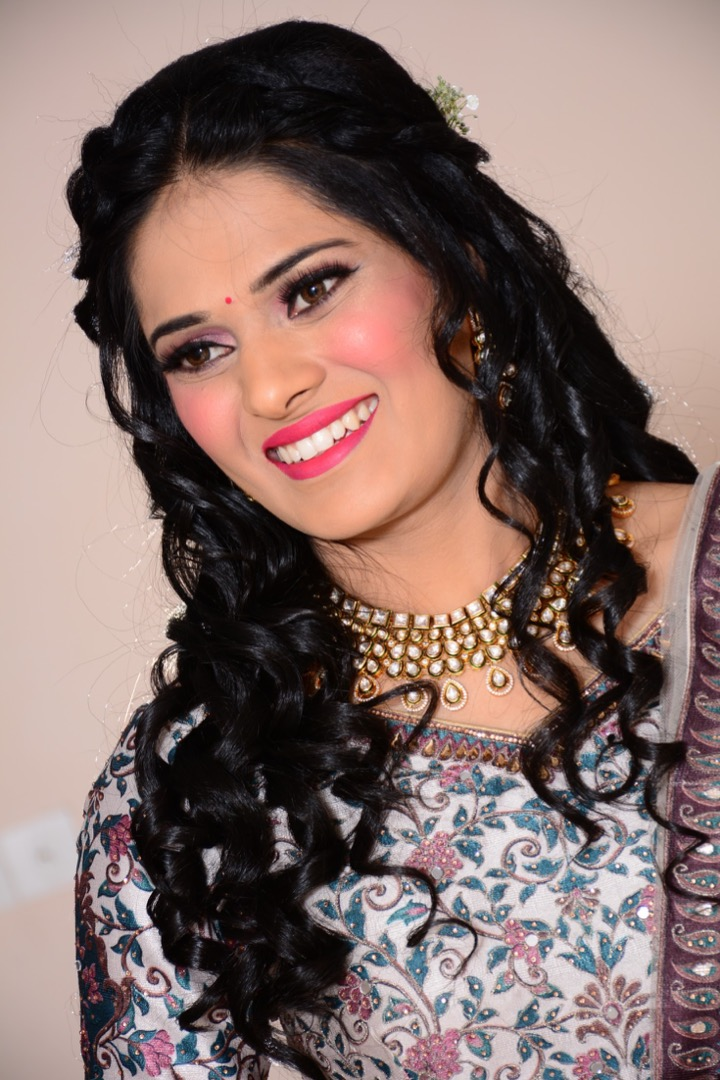 Bridal Makeup for Sangeet CEremony