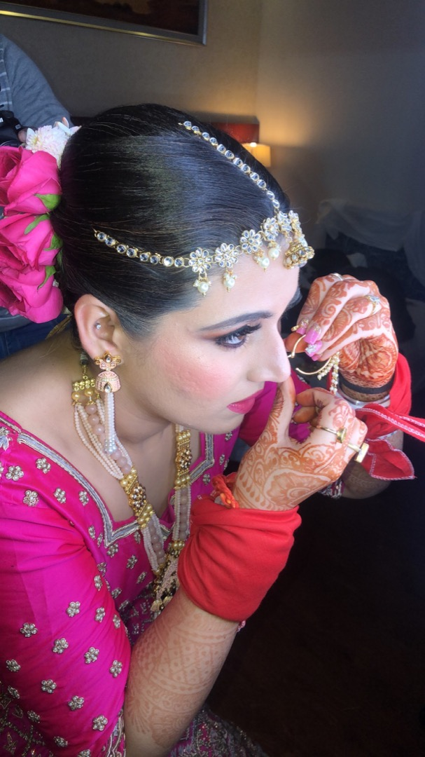 Pink Makeup Bridal
