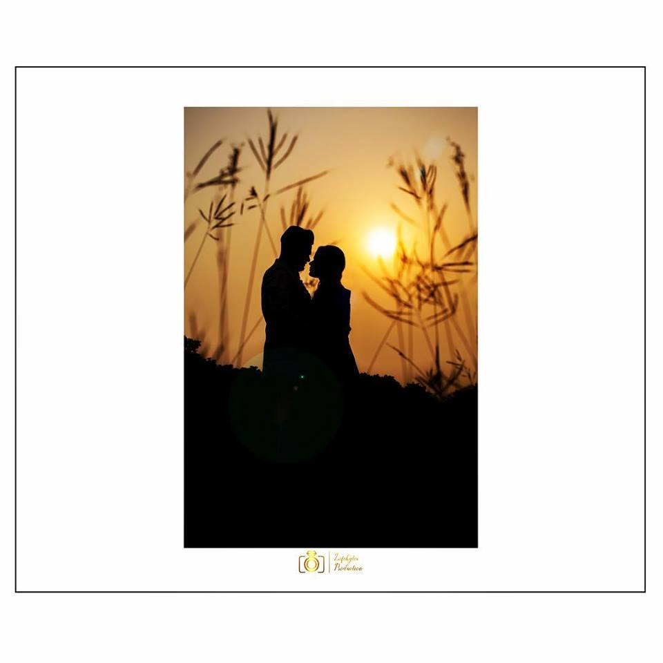 Sunset Shot of Couple