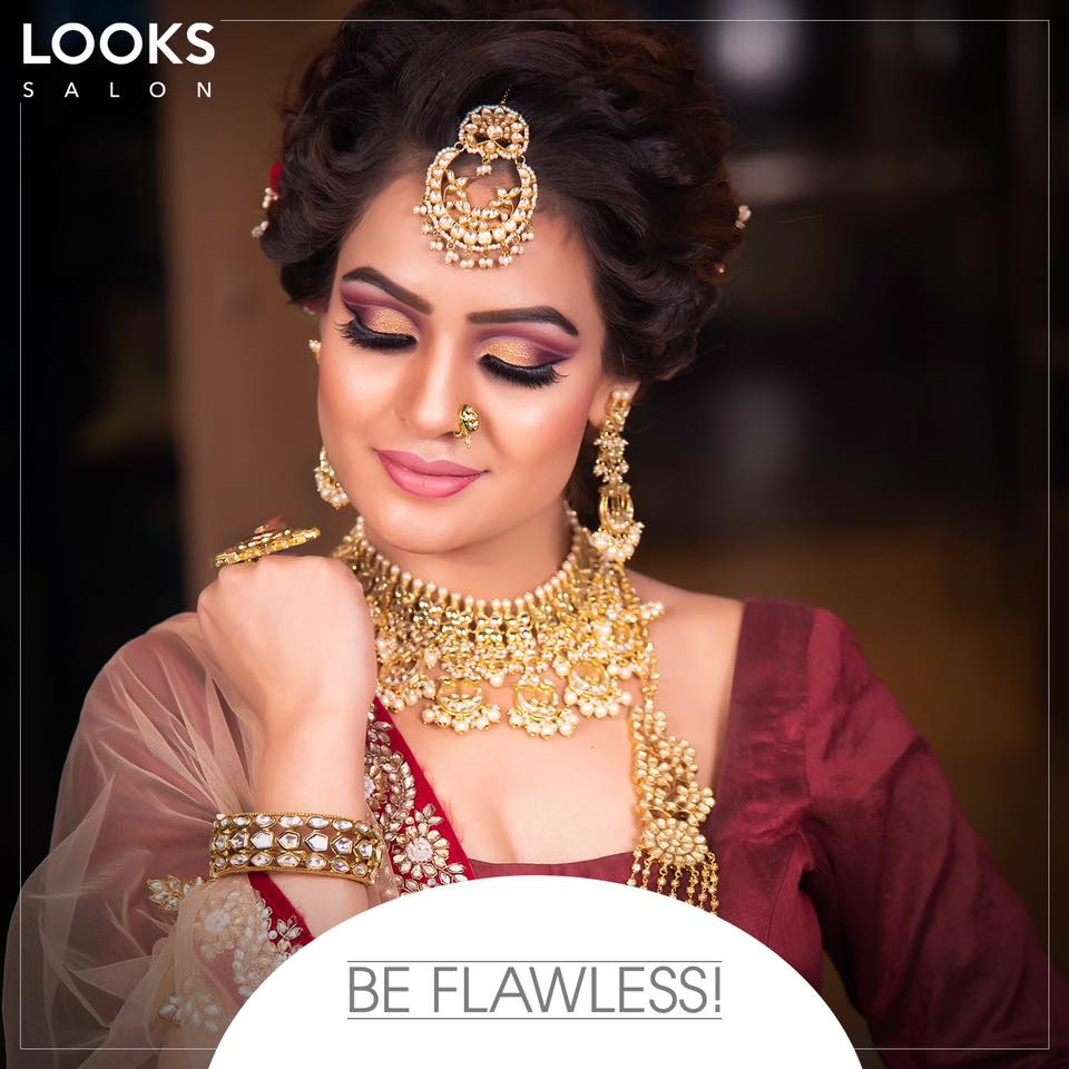Bridal Makeup by Looks Salon Greater Kailash