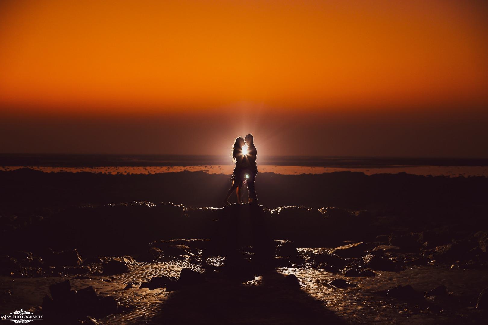 Beautiful Couple Shadow Photography