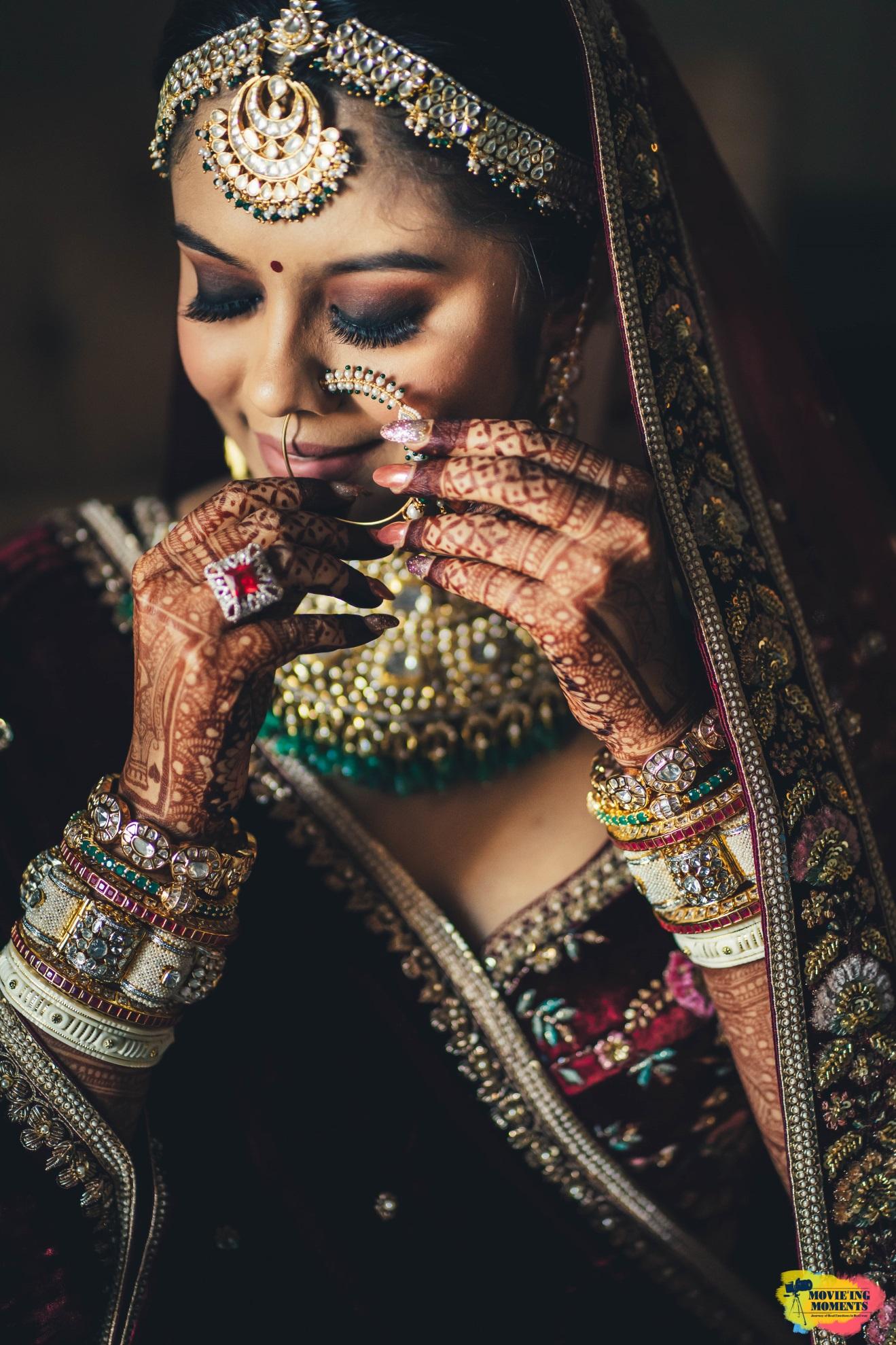 Maang tikka bridal wear