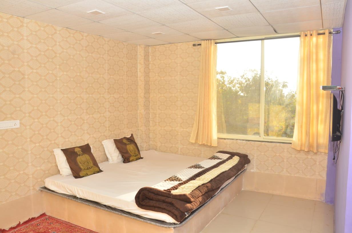 bedroom with minimalist decor
