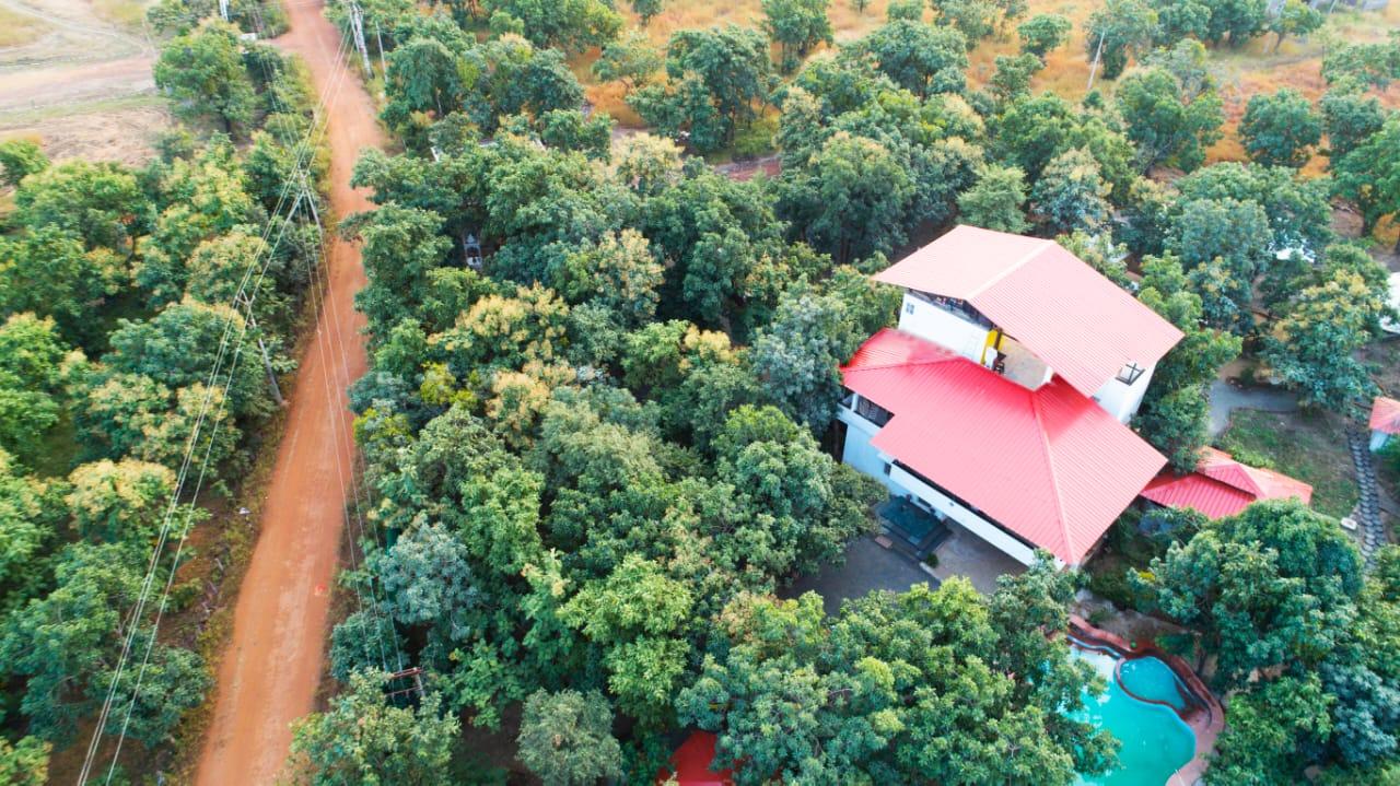 outdoor view of mahua house
