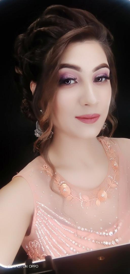 pink nude makeup