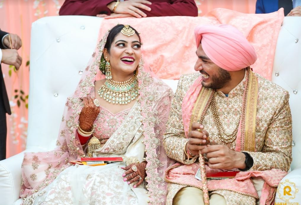 Sikh Bride & Groom Picture