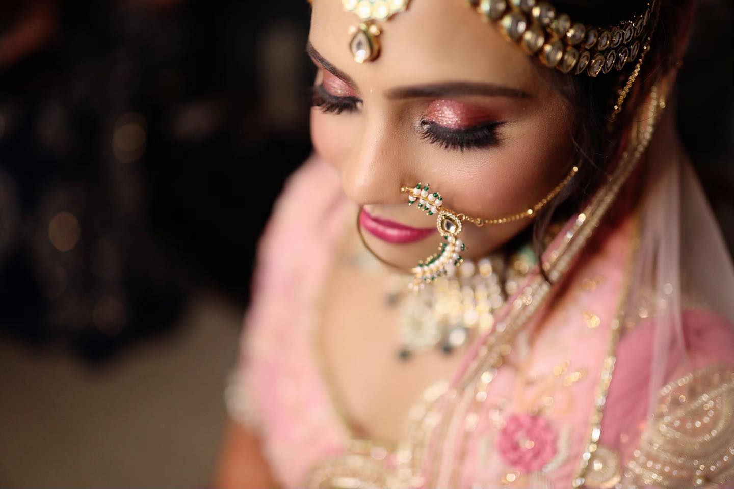 Beautiful Indian Bride in Pink