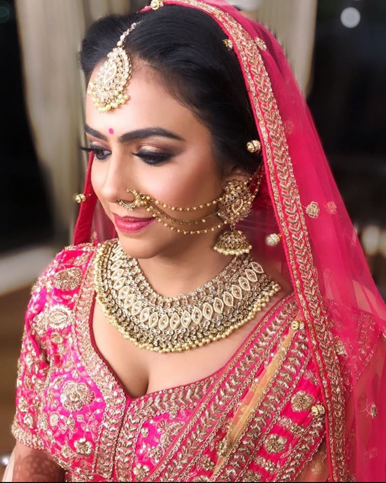 Bridal Makeup Looks for Stunning Dusky Brides