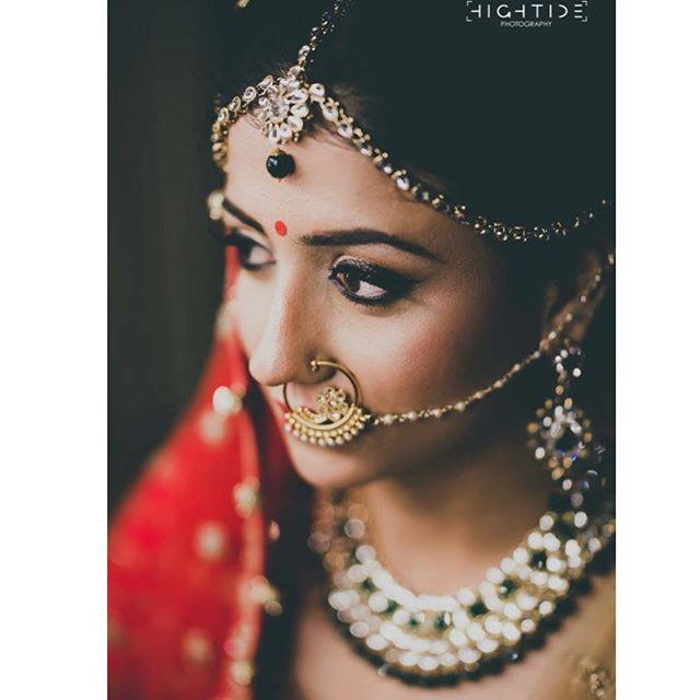 Most Beautiful Indian Bridal Makeup Look