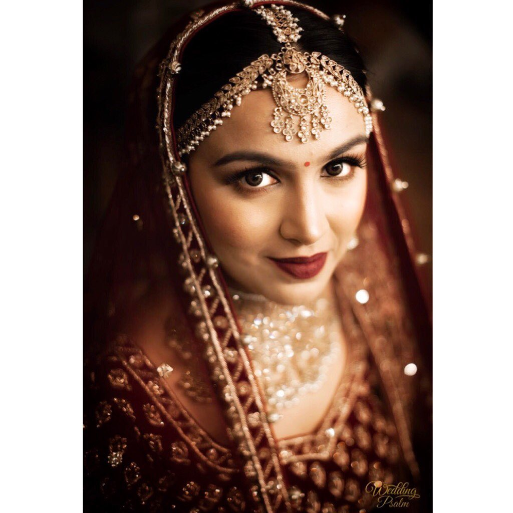 Stunning Indian Bridal Look