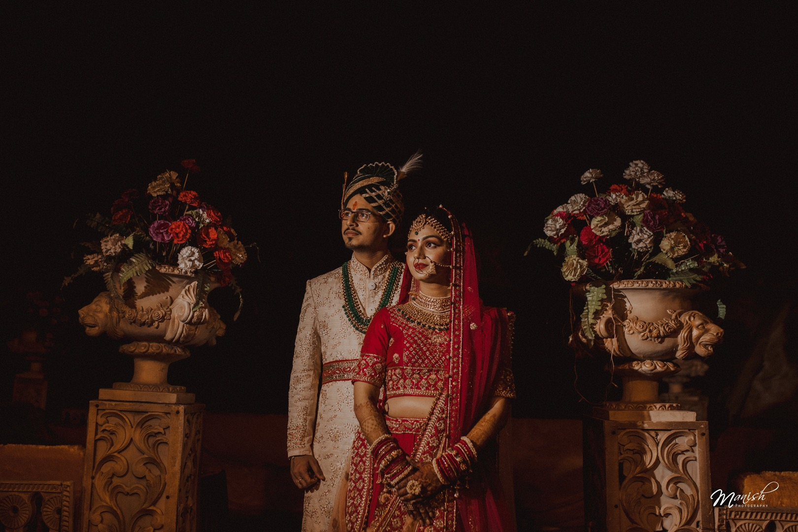 Stunning Wedding Couple Portrait