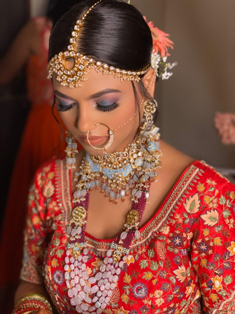 stunning bridal makeup