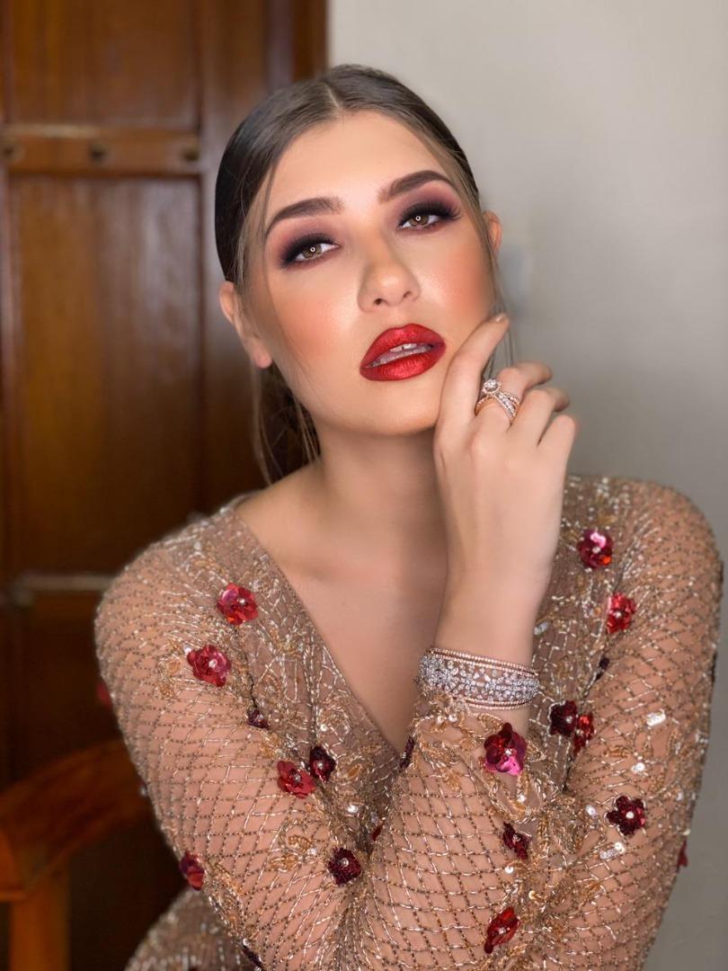 bold statement red lip makeup