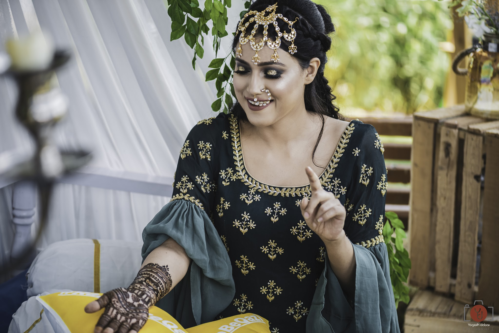 Mehendi ceremony photography