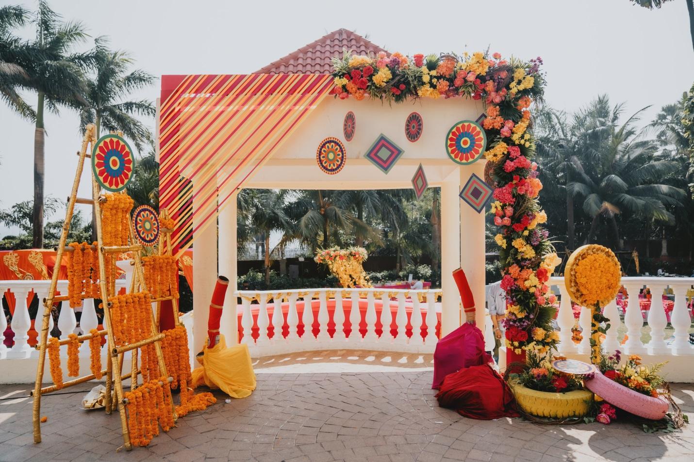 Mehendi function decoration(1)
