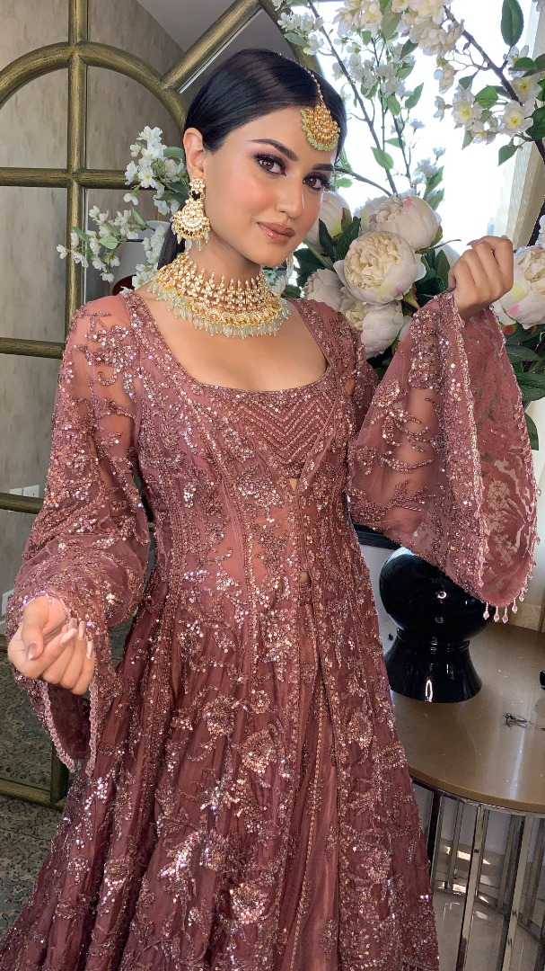 bride in a gorgeous outfit