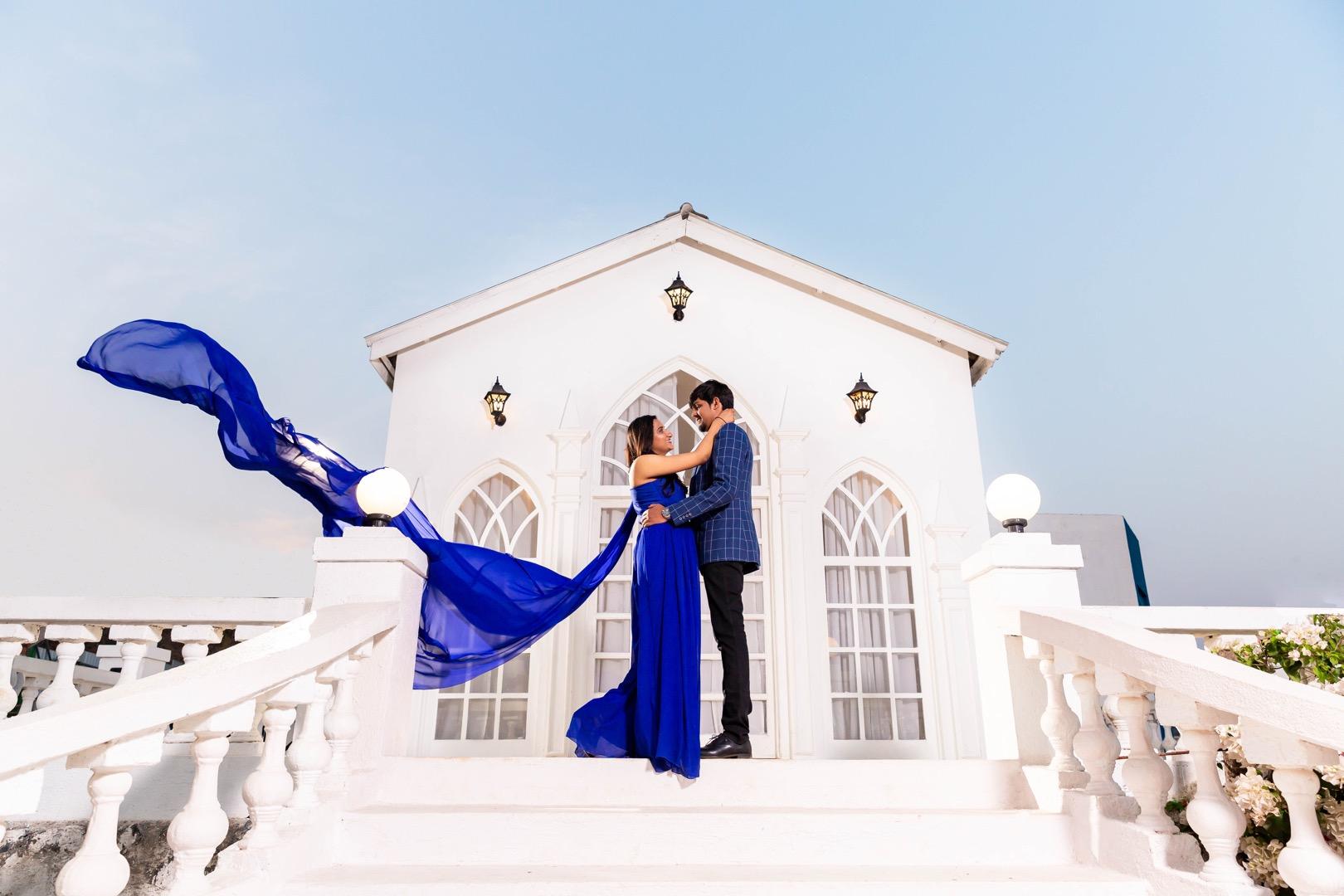 picturesque pre wedding shoot
