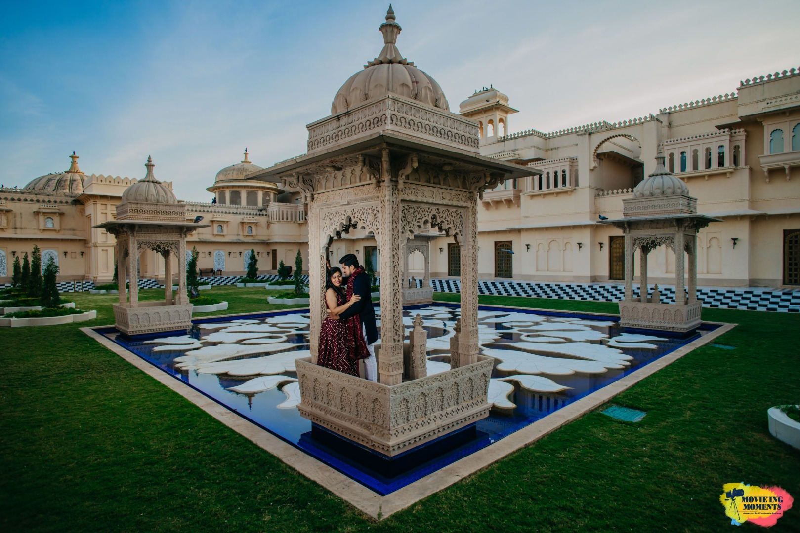 stunning pre wedding shoot in a palace