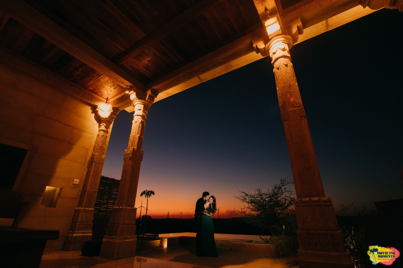 aesthetic outdoor pre wedding shoot
