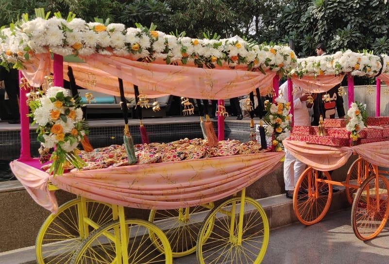 complete wedding planning checklist-mehendi cart