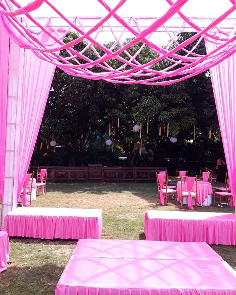 wedding decoration theme in pink