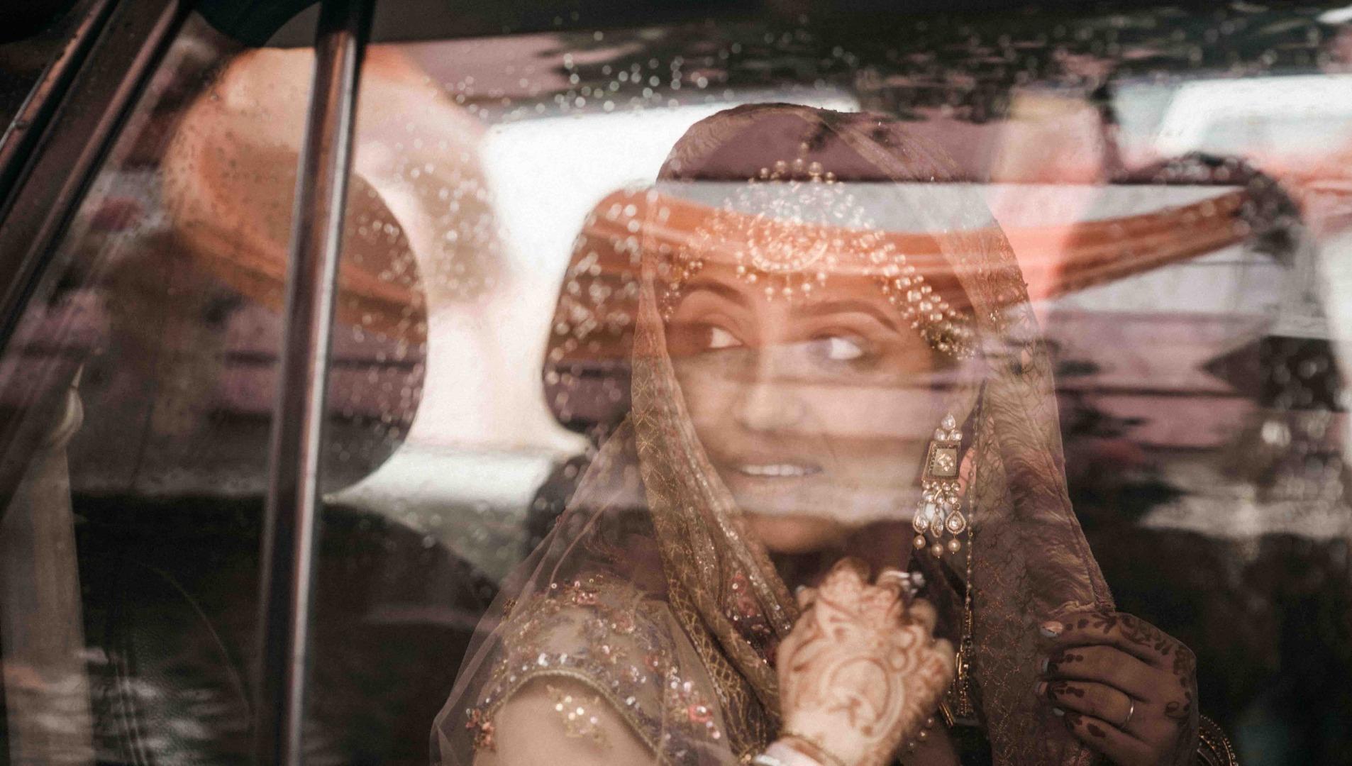 handsome groom in pastel sherwani