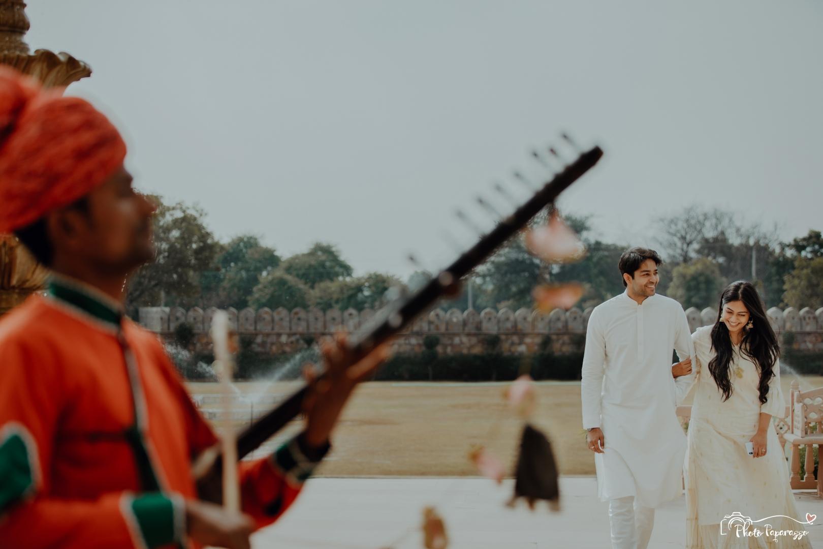 Fort Pre Wedding Photo Ideas
