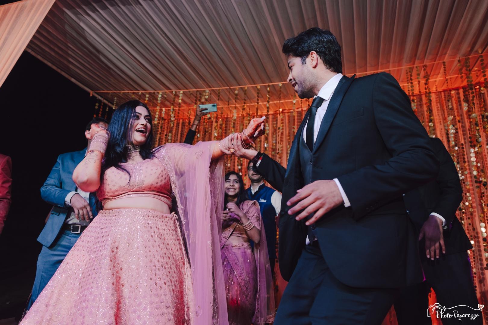 Groom Dance at Sangeet