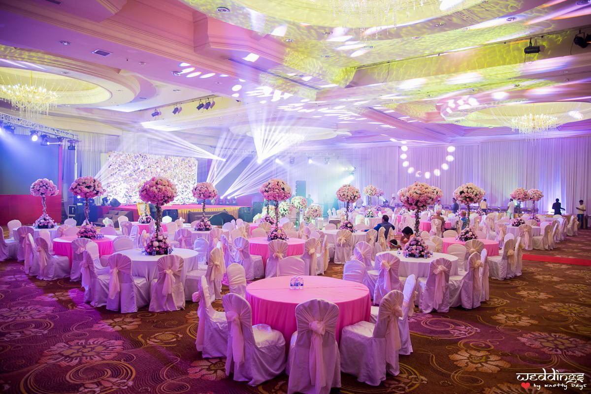 Pink wedding decoration themes
