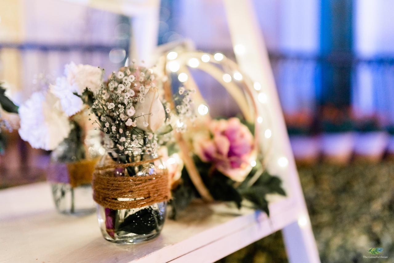 beautiful floral center pieces