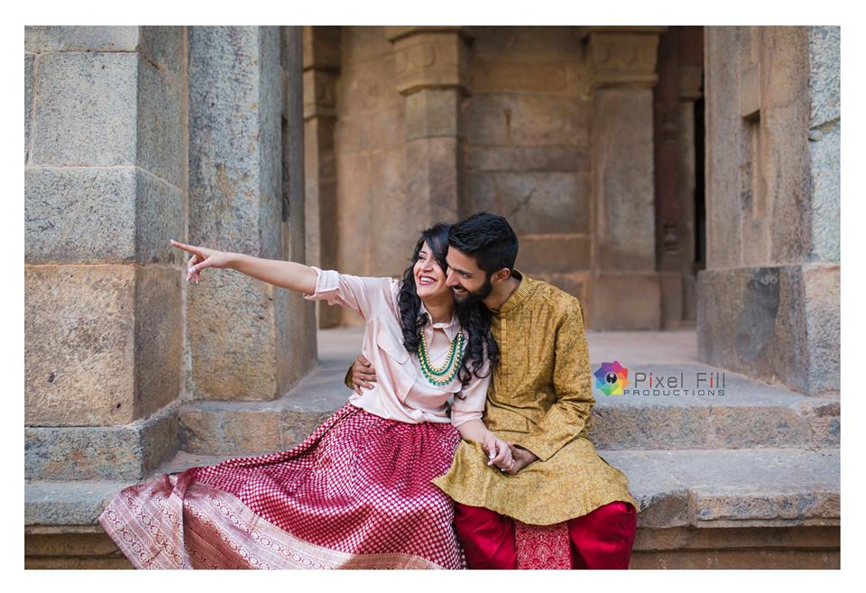 Pre Wedding Photography in Monuments