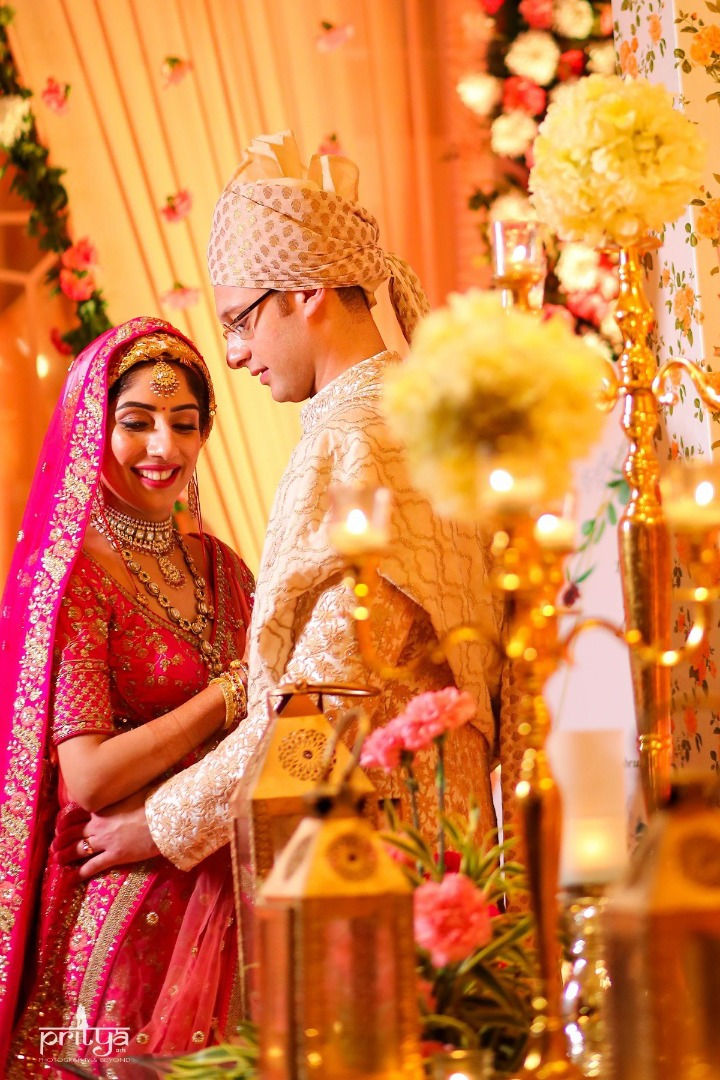 Floral Decorative Elements for Wedding Decoration